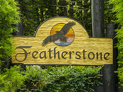 Entrance to Featherstone