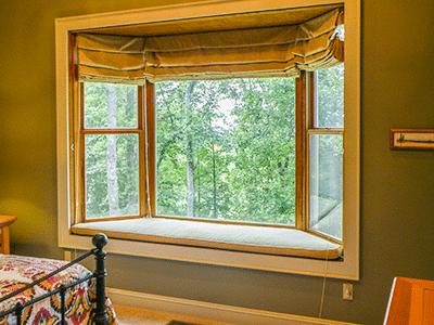 Bay Window in Master