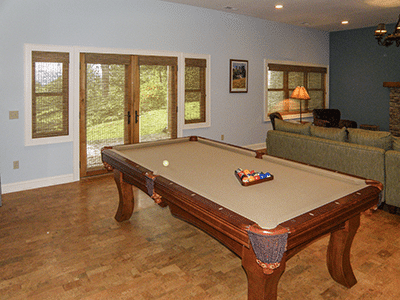 Family Game Room Lower Level